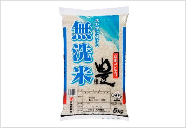 無洗米・豊穰5kg(富山コシヒカリ100%)